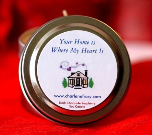 Promotional Favor Gift Travel Candle by mdbweddingsandevents